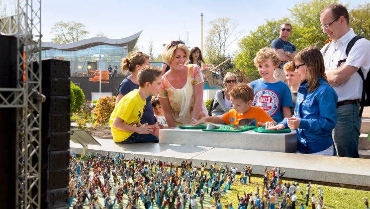 Mix je eigen hit in Madurodam