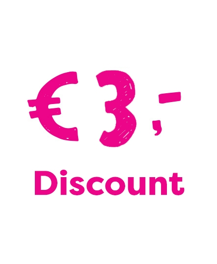 €3 discount